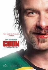 GOON Movie MINI Promo POSTER Canadian Jay Baruchel Alison Pill Liev Schreiber