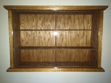Beautiful Hand Crafted Oak Display Case for 1:18 Scale Die Cast Car NASCAR Model