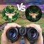 thumbnail 3 - VOROME 12x42 Roof Prism Binoculars for Adults, HD Professional Binoculars for &