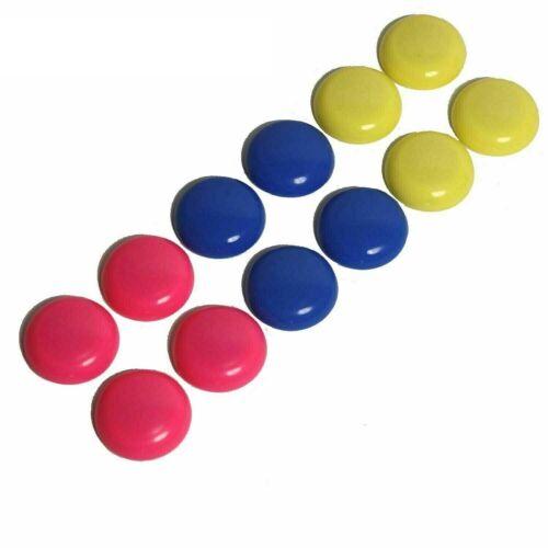 12 x Magnet Magnete Pinnwand Whiteboard Flipchart Magnettafel Kühlschrank B34