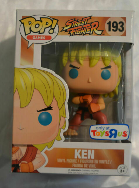 Ken special attack Funko POP 193 NEW!!! Street Fighter Vinyl LTD