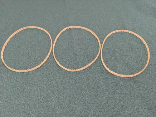 3 NEW REPLACEMENT DRIVE BELTS FOR DURA WHEEL DW PRO MEASURING WHEEL