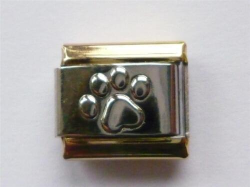MATT ITALIAN CHARM CLASSIC ANIMAL PAW fits all design 9mm bracelet G11