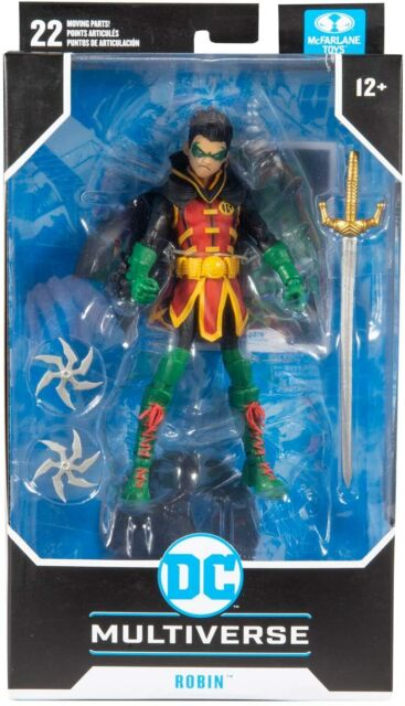 DC Multiverse Comic Series 7 Inch Action Figure Wave 4 - Damian Wayne Robin