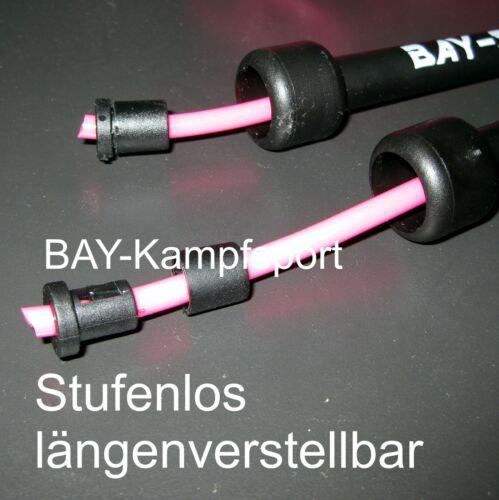 Bay Sports ® Corda Salto Corda Nero Rosso Blu Rosa Viola Rosa hüpfschnur