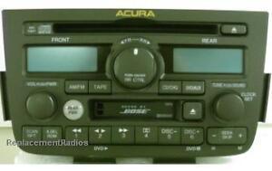 acura mdx 2001 2004 cd cassette dvd bose stereo oem. Black Bedroom Furniture Sets. Home Design Ideas