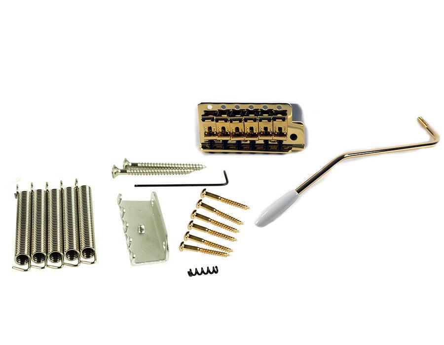 Kluson Gold Narrow Tremolo conGrüns Fender Vintage Strat USA to Amer Std spec