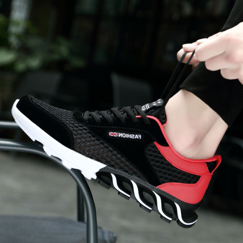 Men's Breathable Fashion Sneakers Casual Trainers Breathable Men's Running Outdoor Shoes 962ba6