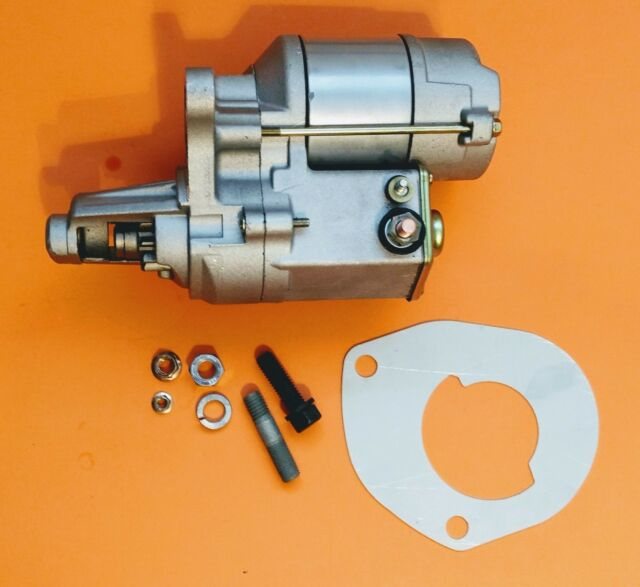 Mopar Big-Block Hi-Torque Mini Starter & Hardware Kit Chrysler Dodge Plymouth