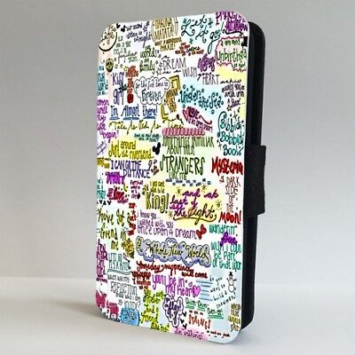 disney musical songs lyrics quotes flip phone case cover for