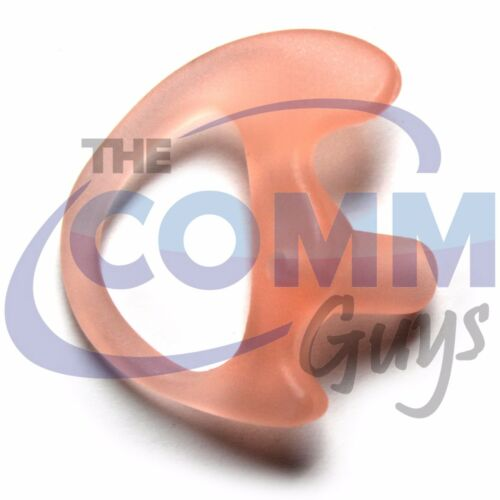 RIGHT EXTRA SMALL GEL EAR MOLD SEMI CUSTOM FLEXIBLE OPEN INSERT HEADSET TIP