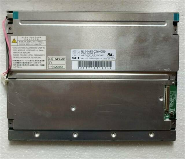 NEW NL6448BC26-08D a-Si TFT-LCD for NEC 640*480 8.4-inch LCD panel free shipping