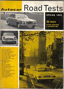 Autocar-Road-Tests-Annual-Spring-1963-Austin-Ford-Hillman-MG-Triumph-V-Plas-VW