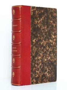 A-MAURY-La-Terre-et-l-039-Homme-ou-Apercu-historique-de-geolog-Hachette-1869-Relie