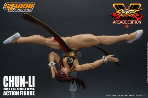 Storm Collectibles Street Fighter Hot Chun-Li Battle Costume NYCC Figure