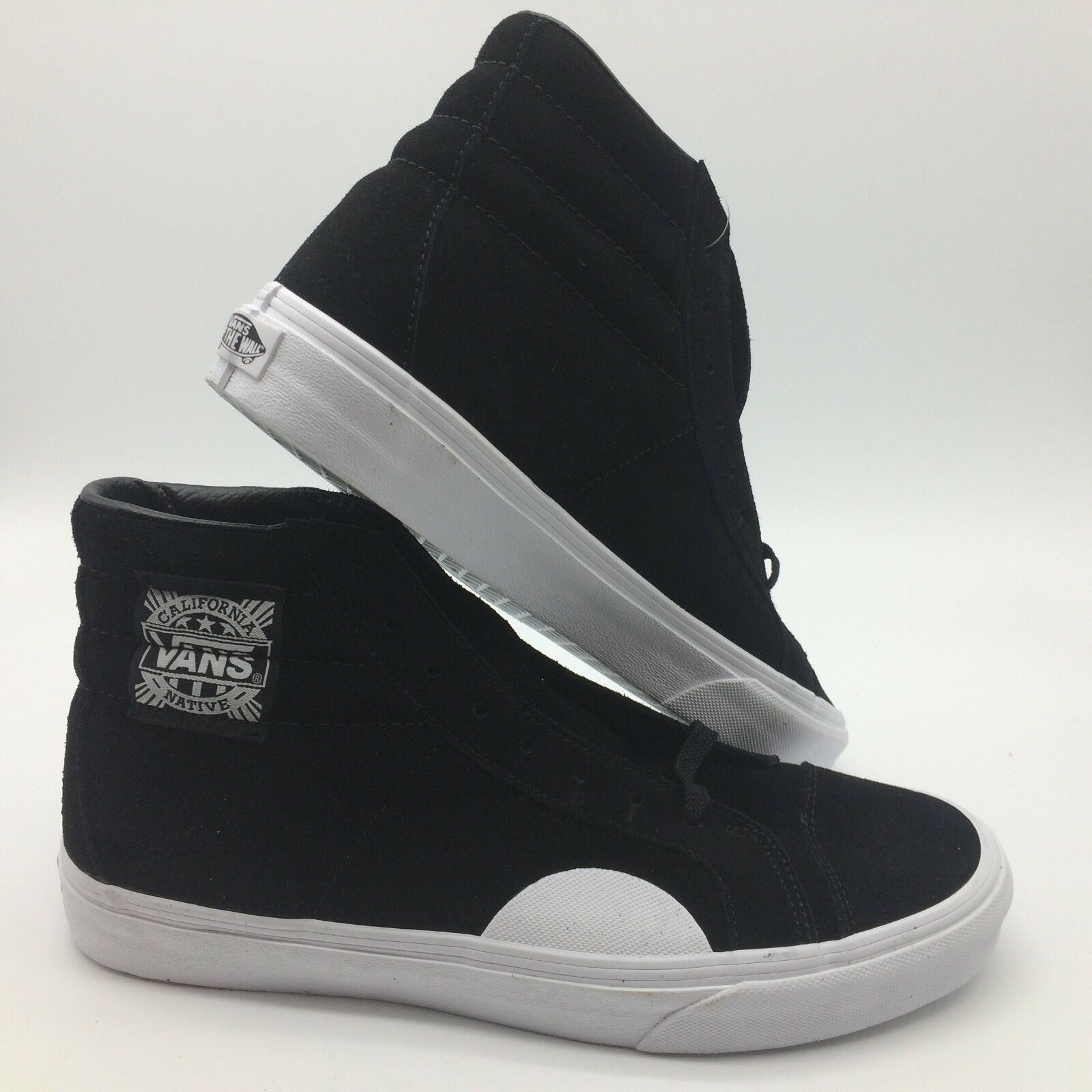Vans Men's shoes  Style 238  (Native Suede) Black White