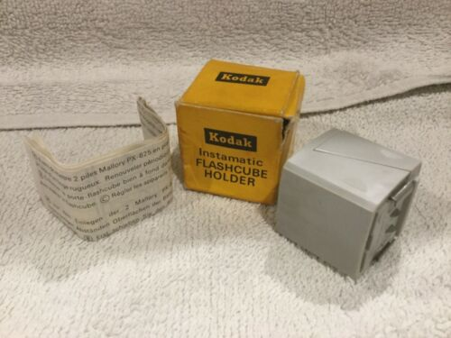 Kodak Instamatic Flashcube Holder Photography