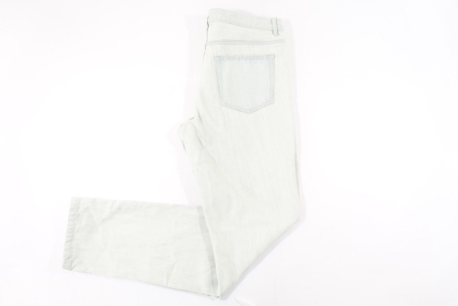 A.P.C.  APC Rue Madame PARIS Bleach 35 Recto Bajo Jeans Estándar para hombre nuevo con etiquetas  ventas en linea