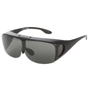 4bd6a7aa58 Image is loading POLARIZED-FIT-OVER-SUNGLASSES-COVER-ALL-GLASSES-DRIVE-