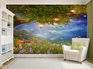 Image Is Loading Fantasy Tree Wall Mural Photo Wallpaper Giant