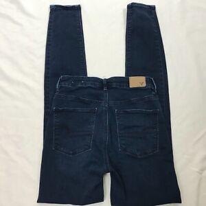 AE-American-Eagle-Sky-High-Jegging-Jeans-Sz-4-Super-Super-Stretch