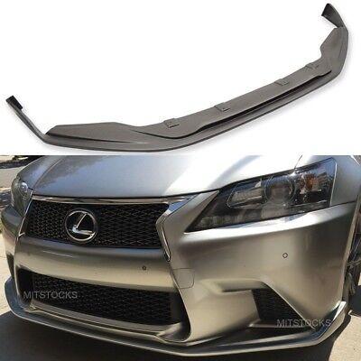 Fits 13 15 Lexus Gs350 450 F Sport Sk Style Front Bumper Lip Spoiler Body Kit Pu Ebay