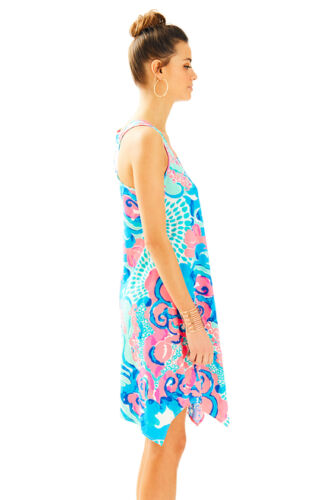 Dvd Dress Nuovo Blue Coral Melle Pulitzer Pink White Reef So Lilly Im Frozen EYnYHxq