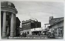 Photo. ca 1944. Nanaimo, BC Canada. Church St