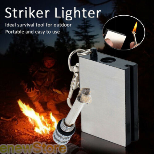 5x Instant Survival Magnesium Fire Starter 15000 Matches in One Survival Camping