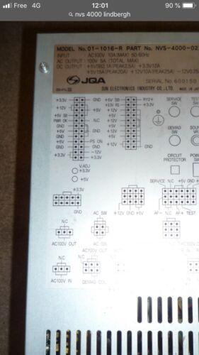 Cable Adapter JVS Sega Lindbergh Cabinet To Naomi Sun PSU To JVS