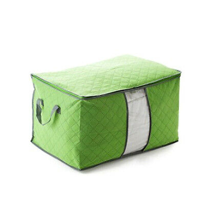 Home Foldable Organizer Bamboo Bedquilt  Storage Bag Box Case  2 Size Available