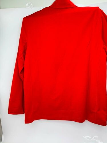 Athletic Works Men/'s Tech Fleece Jacket,Knit Red,Size:X Large,NWT.Fast Shipping
