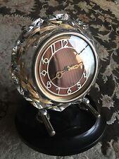 "Beautiful Vintage 1950s Russian ""Majak"" Mechanical Wind Up Mantle Clock"
