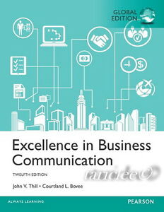 New excellence in business communication 12th edition courtland image is loading new excellence in business communication 12th edition courtland fandeluxe Gallery