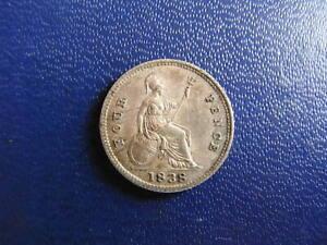 Victoria Silver Groat 1838 S.3913 aEF grade