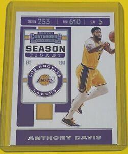 2019-20 Panini Contenders Anthony Davis SEASON TICKET Los Angeles Lakers #7 🔥