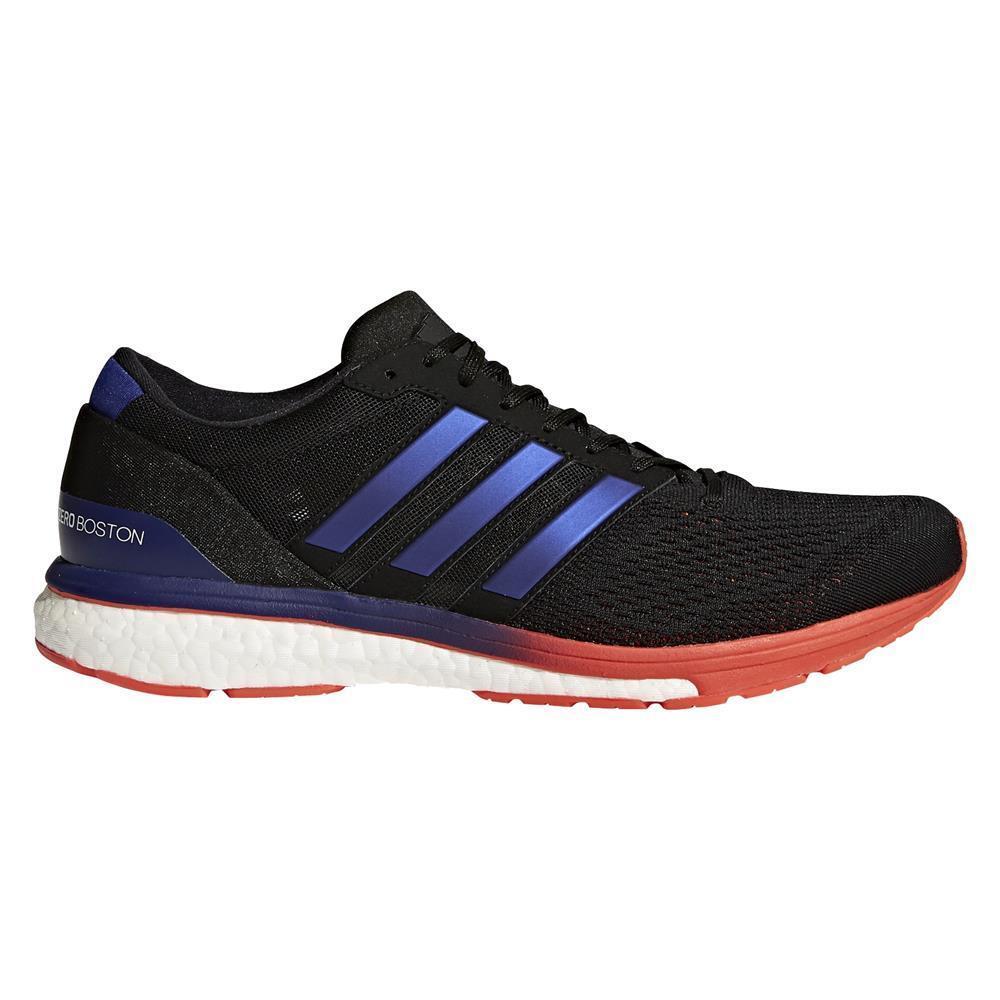 Mens Adidas Running adizero Boston 6 M Running Adidas Black / Real Purple / Red Sz 8 BB6413 ea12d6