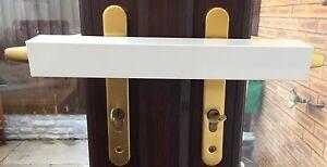 Upvc french door patio door double door security burglar for Upvc french door lock replacement