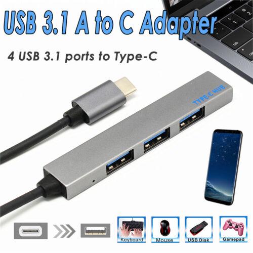 4//7 in1 USB-C 3.1 Hub Type-C Multiport Adapter 4K HD Card Reader for MacBook Pro