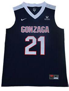 check out 349b6 78b65 Details about Rui Hachimura Jersey 21# Gonzaga Bulldogs Stitched University  Basketball Jersey
