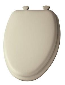 Details About Mayfair Vinyl Cushioned Toilet Seat Elongated Bone