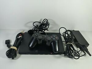 PS2 Slim Console Bundle SCPH-70011 1 Controller Tested