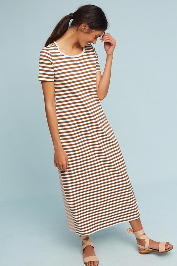 NWT Anthropologie Striped Knit Dress Size XL
