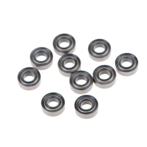 10X MR115ZZ Miniature Metal Shielded Rubber Sealed Bearing Model 5 x 11 x 4mm SK
