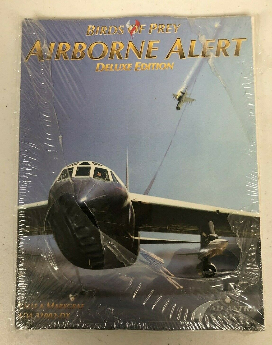Ad Astra Games Airborne Alert Deluxe Edition Birds of Prey Valle & Markgraf NEW
