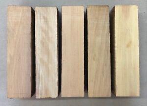 Zitronenholz-Ceylon-Satinholz-Drechselholz-Messerblock-180-x-40-x-40-mm