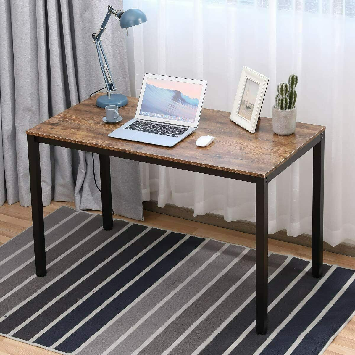 Image of: Mid Century Modern Design Home Office Writing Computer Desk With Drawers For Sale Online Ebay
