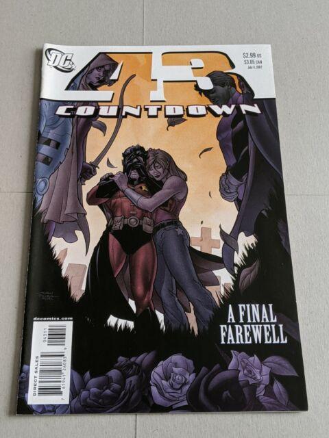 Countdown #43 July 2007 DC Comics Batman Superman