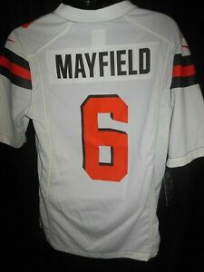 online retailer 4a46b b8459 Details about Cleveland Browns Baker Mayfield #6 Men's Nike On Field Jersey