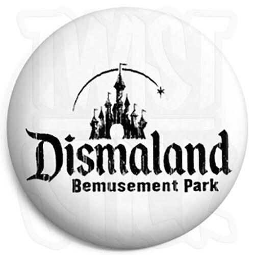 Dismaland 25mm Button Badge Gift Shop Souvenir Fridge Magnet Option Banksy